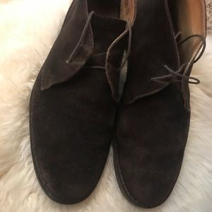 24c031e99dc Peal   Co for Brooks Brothers Brown suede chukka